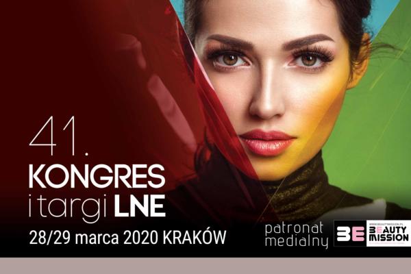 41 Kongres i Targi Kosmetologiczne LNE – zaproszenie dla studentów i absolwentów kierunku Kosmetologia.